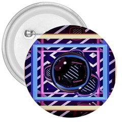 Abstract Sphere Room 3d Design 3  Buttons