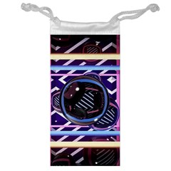 Abstract Sphere Room 3d Design Jewelry Bag