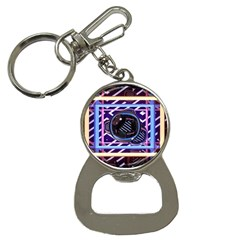 Abstract Sphere Room 3d Design Button Necklaces