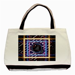 Abstract Sphere Room 3d Design Basic Tote Bag
