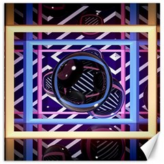 Abstract Sphere Room 3d Design Canvas 20  X 20