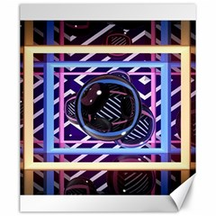 Abstract Sphere Room 3d Design Canvas 20  X 24