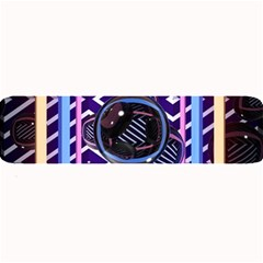 Abstract Sphere Room 3d Design Large Bar Mats
