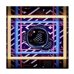 Abstract Sphere Room 3d Design Face Towel