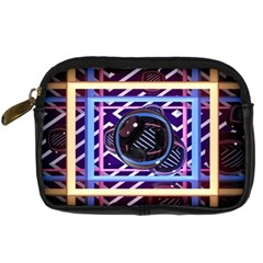 Abstract Sphere Room 3d Design Digital Camera Cases