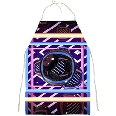 Abstract Sphere Room 3d Design Full Print Aprons