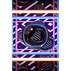 Abstract Sphere Room 3d Design 5 5  X 8 5  Notebooks