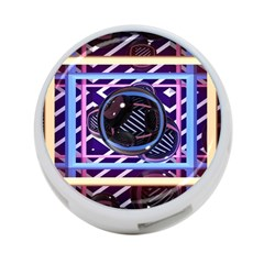 Abstract Sphere Room 3d Design 4 Port Usb Hub (one Side)