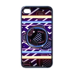 Abstract Sphere Room 3d Design Apple Iphone 4 Case (black)