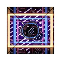 Abstract Sphere Room 3d Design Acrylic Tangram Puzzle (6  X 6 )