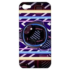 Abstract Sphere Room 3d Design Apple Iphone 5 Hardshell Case