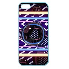 Abstract Sphere Room 3d Design Apple Seamless Iphone 5 Case (color)