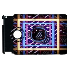 Abstract Sphere Room 3d Design Apple Ipad 3/4 Flip 360 Case