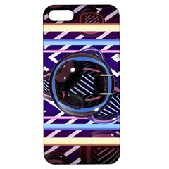 Abstract Sphere Room 3d Design Apple Iphone 5 Hardshell Case With Stand