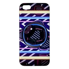 Abstract Sphere Room 3d Design Apple iPhone 5 Premium Hardshell Case