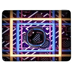Abstract Sphere Room 3d Design Samsung Galaxy Tab 7  P1000 Flip Case