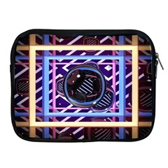 Abstract Sphere Room 3d Design Apple Ipad 2/3/4 Zipper Cases