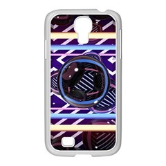 Abstract Sphere Room 3d Design Samsung Galaxy S4 I9500/ I9505 Case (white)