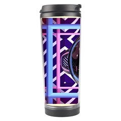 Abstract Sphere Room 3d Design Travel Tumbler