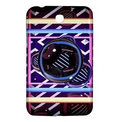 Abstract Sphere Room 3d Design Samsung Galaxy Tab 3 (7 ) P3200 Hardshell Case