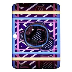 Abstract Sphere Room 3d Design Samsung Galaxy Tab 3 (10 1 ) P5200 Hardshell Case