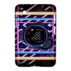 Abstract Sphere Room 3d Design Samsung Galaxy Tab 2 (7 ) P3100 Hardshell Case
