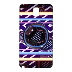 Abstract Sphere Room 3d Design Samsung Galaxy Note 3 N9005 Hardshell Back Case