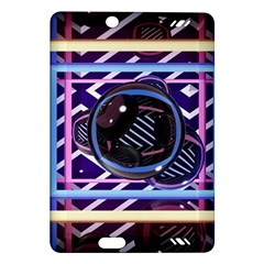 Abstract Sphere Room 3d Design Amazon Kindle Fire Hd (2013) Hardshell Case