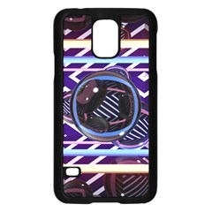 Abstract Sphere Room 3d Design Samsung Galaxy S5 Case (black)