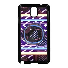 Abstract Sphere Room 3d Design Samsung Galaxy Note 3 Neo Hardshell Case (black)