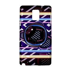 Abstract Sphere Room 3d Design Samsung Galaxy Note 4 Hardshell Case