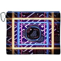 Abstract Sphere Room 3d Design Canvas Cosmetic Bag (xxxl)