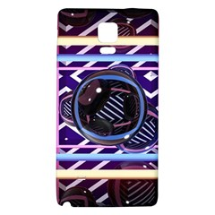 Abstract Sphere Room 3d Design Galaxy Note 4 Back Case