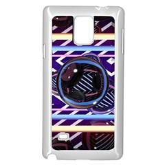 Abstract Sphere Room 3d Design Samsung Galaxy Note 4 Case (white)
