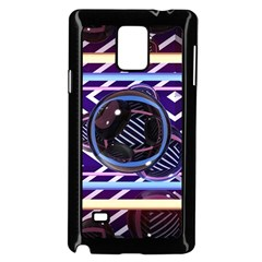 Abstract Sphere Room 3d Design Samsung Galaxy Note 4 Case (black)