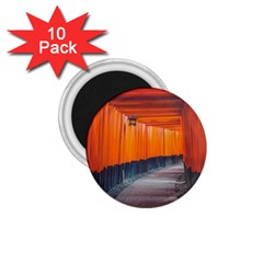 Architecture Art Bright Color 1 75  Magnets (10 Pack)