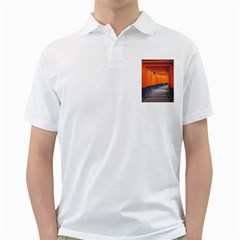 Architecture Art Bright Color Golf Shirts