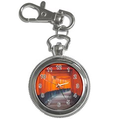 Architecture Art Bright Color Key Chain Watches
