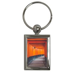 Architecture Art Bright Color Key Chains (rectangle)