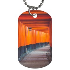 Architecture Art Bright Color Dog Tag (one Side)