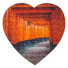 Architecture Art Bright Color Jigsaw Puzzle (heart)