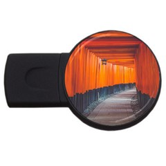 Architecture Art Bright Color Usb Flash Drive Round (4 Gb)