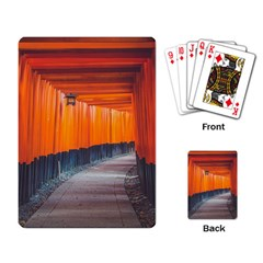 Architecture Art Bright Color Playing Card