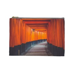 Architecture Art Bright Color Cosmetic Bag (large)