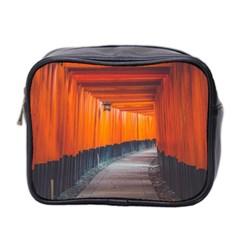 Architecture Art Bright Color Mini Toiletries Bag 2 Side