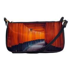 Architecture Art Bright Color Shoulder Clutch Bags