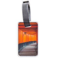 Architecture Art Bright Color Luggage Tags (one Side)