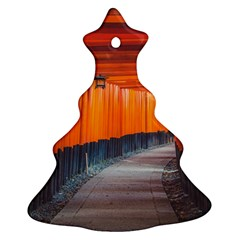 Architecture Art Bright Color Christmas Tree Ornament (2 Sides)