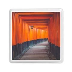 Architecture Art Bright Color Memory Card Reader (square)
