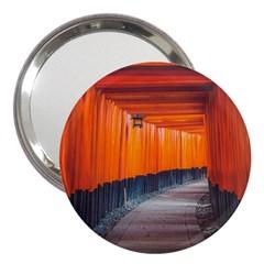 Architecture Art Bright Color 3  Handbag Mirrors